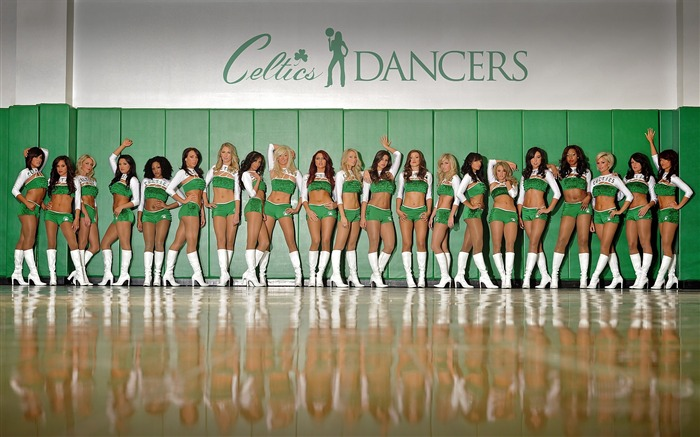 Team-Boston Celtics 2011-2012 season beautiful Dancers Wallpapers  Views:11693