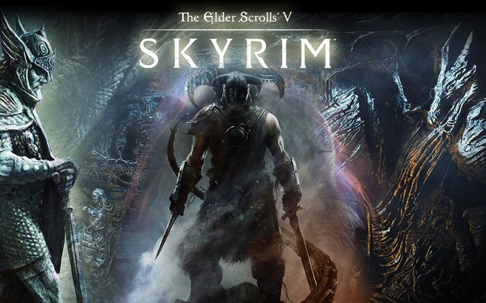 The Elder Scrolls V-Skyrim Game HD Wallpaper Views:12214