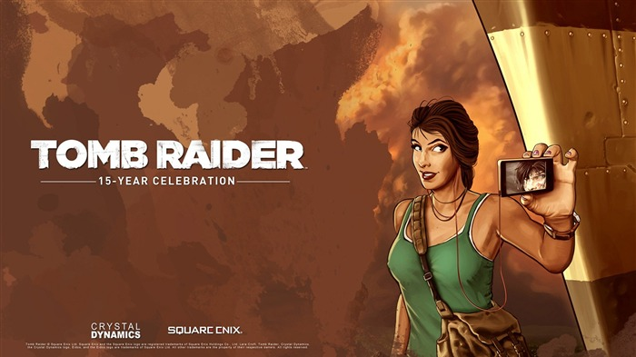 Tomb Raider 15-Year Celebration Game HD Wallpaper 02 Views:3657