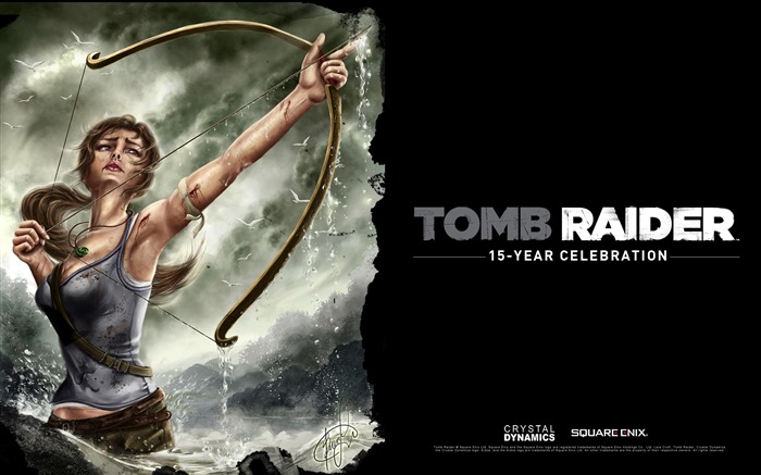 Tomb Raider 15-Year Celebration Game HD Wallpaper 08 Views:4425