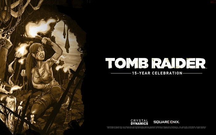 Tomb Raider 15-Year Celebration Game HD Wallpaper 09 Views:4223