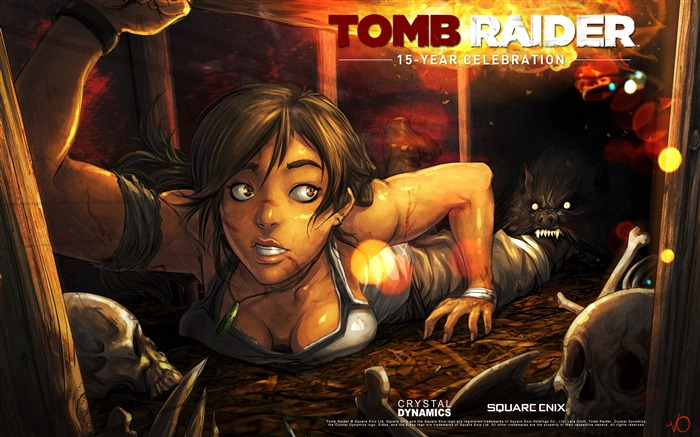 Tomb Raider 15-Year Celebration Game HD Wallpaper 12 Views:4895