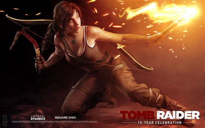 Tomb Raider 15-Year Celebration Game HD Wallpaper 13 Views:4573