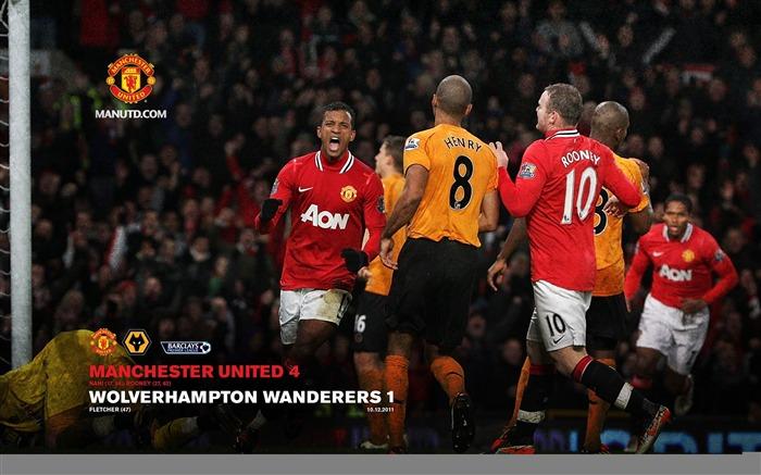 Wolves Vs Man United Wallpaper: 英超2011-2012赛季曼联桌面壁纸专辑列表-第1页
