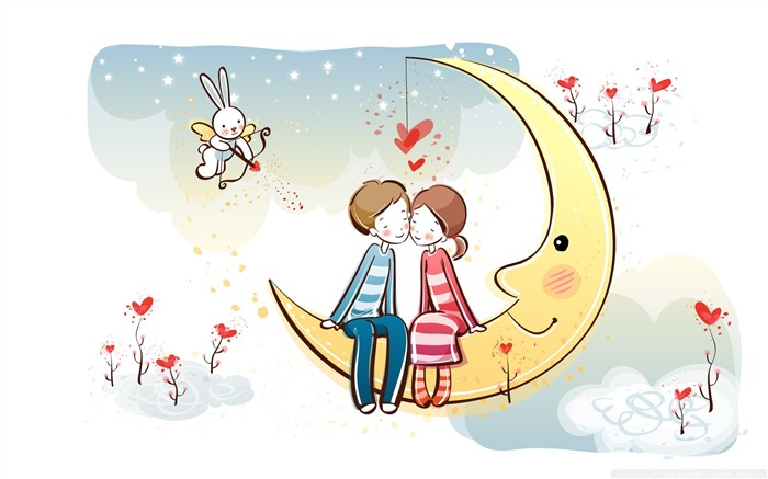 Romantic Valentines Day Vector Wallpaper Album Views:14156
