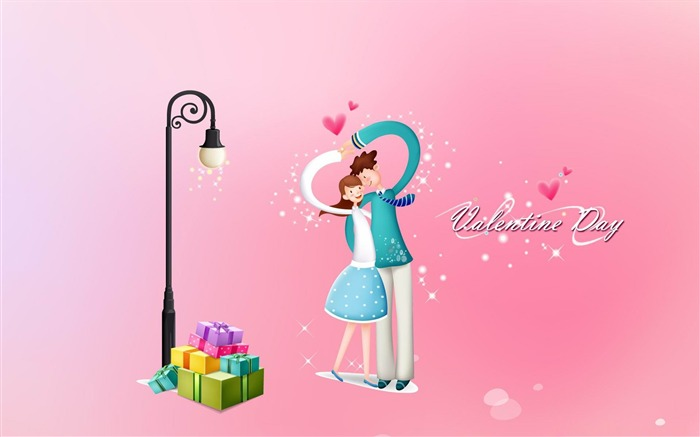 with love valentines day 01-Romantic Valentines Day Vector Wallpaper Views:2224