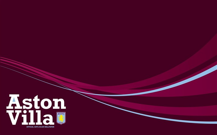 A claret classic-Aston Villa football club HD desktop wallpaper Views:4760