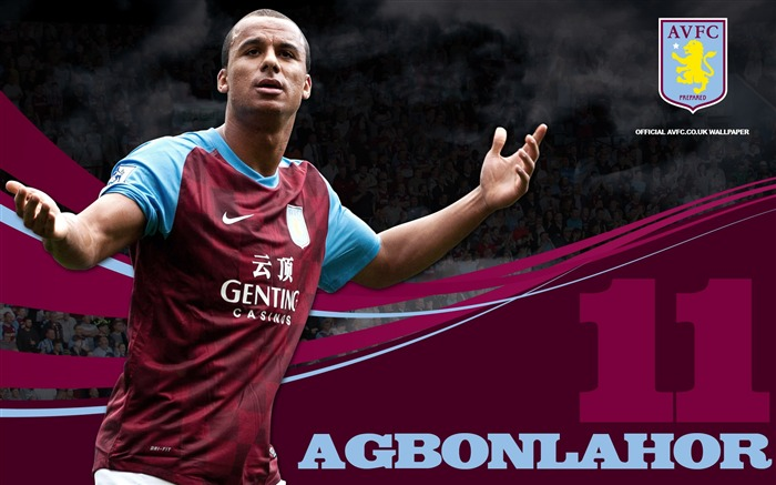 Ace Agbonlahor loved by Villa-Aston Villa football club HD desktop wallpaper Views:4242