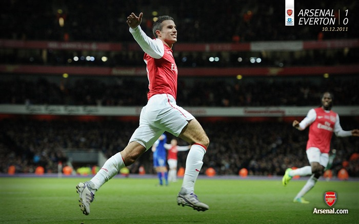 Arsenal 1-0 Everton-Arsenal 2011-12 season Desktop wallpaper Views:4423