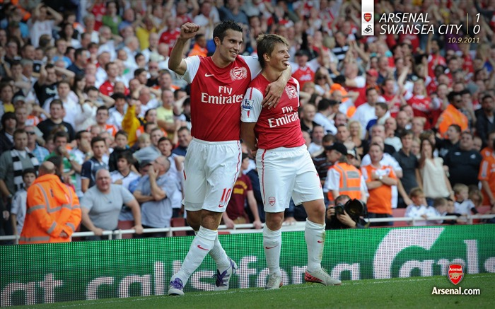 Arsenal 1-0 Swansea-Arsenal 2011-12 season Desktop wallpaper Views:4285