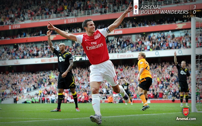 Arsenal 3-0 Bolton-Arsenal 2011-12 season Desktop wallpaper Views:4602