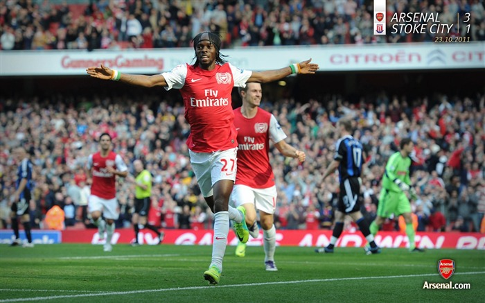 Arsenal 3-1 Storck City-Arsenal 2011-12 season Desktop wallpaper Views:4553