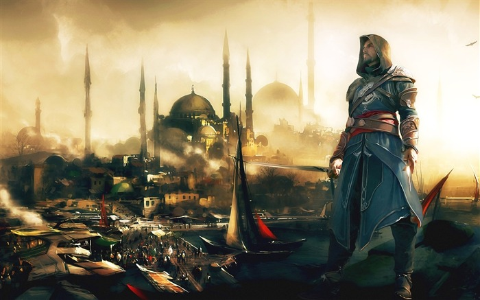Assassins Creed Revelations Game HD Wallpaper 25 Views:6896