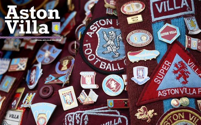 Badge brilliance-Aston Villa football club HD desktop wallpaper Views:4639