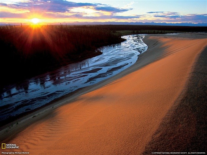 Great Kobuk Sand Dunes Alaska-National Geographic Travel Photos Views:3711