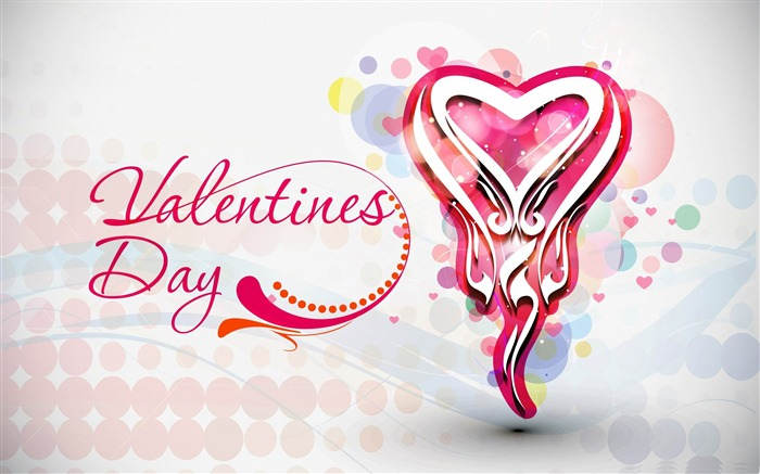Romantic Valentines Day-Valentines Day theme desktop picture Views:7747