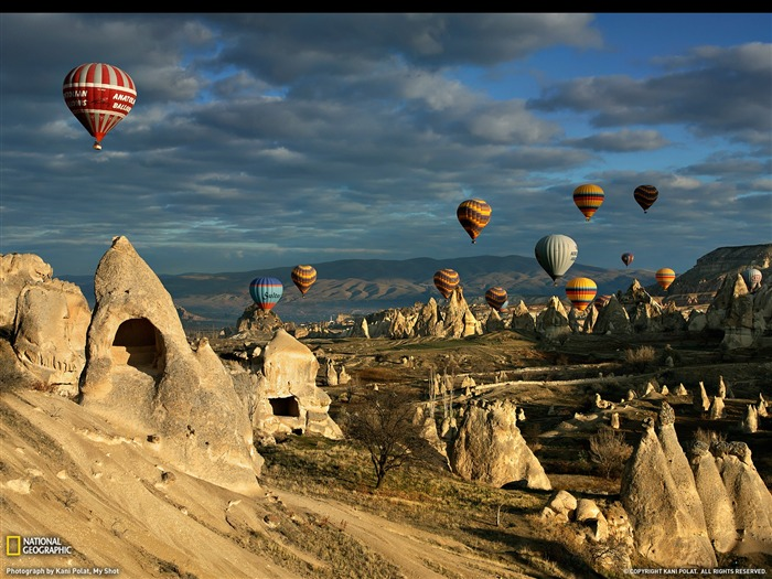 Hot Air Balloons Cappadocia-National Geographic Travel Photos Views:15450