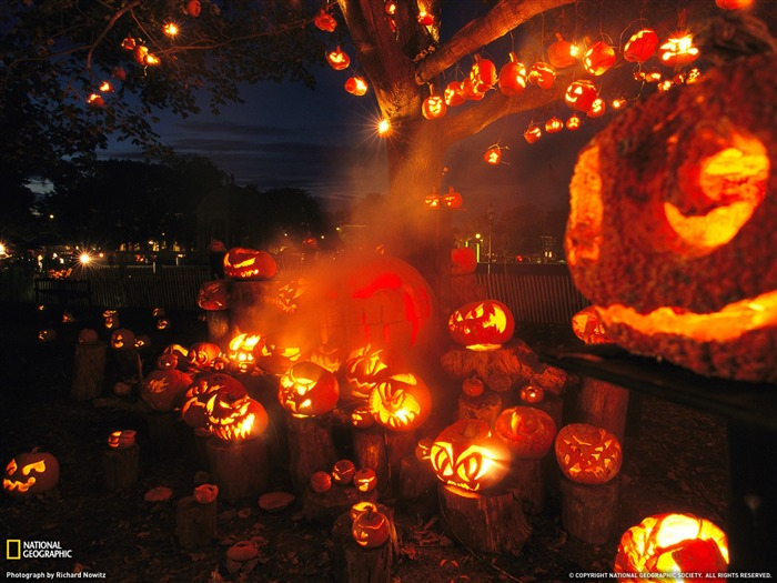 Jack Lanterns Massachusetts-National Geographic Travel Photos Views:3547
