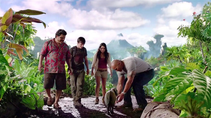 Journey 2-The Mysterious Island HD Movie Wallpaper 05 Views:3396