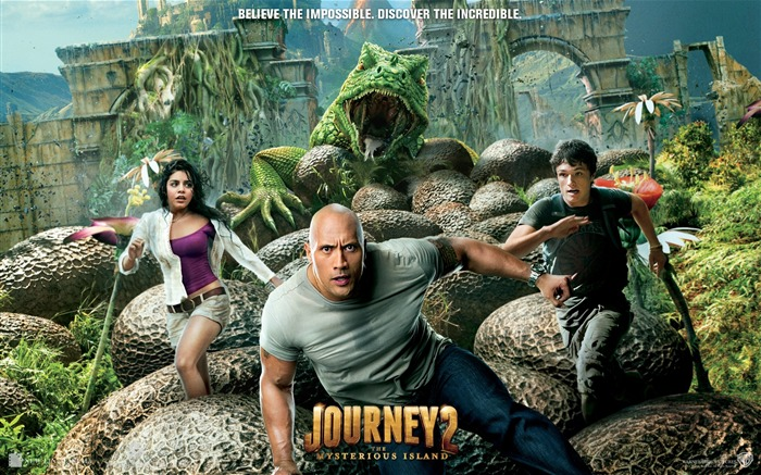 Journey 2-The Mysterious Island HD Movie Wallpaper Views:7808