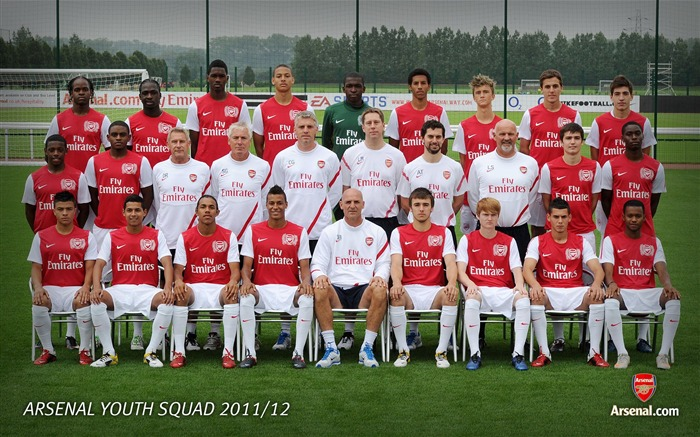 Reserve family-Arsenal 2011-12 season Desktop wallpaper Views:7151