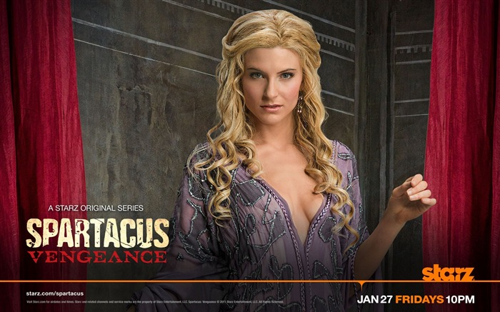Spartacus-Vengeance HD American TV Desktop Wallpaper Views:10509
