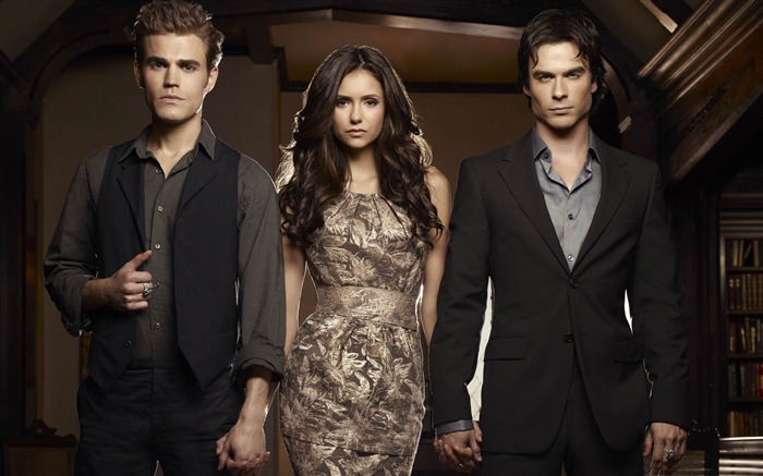 The Vampire Diaries-2011 Movie Selection Wallpaper Views:8303