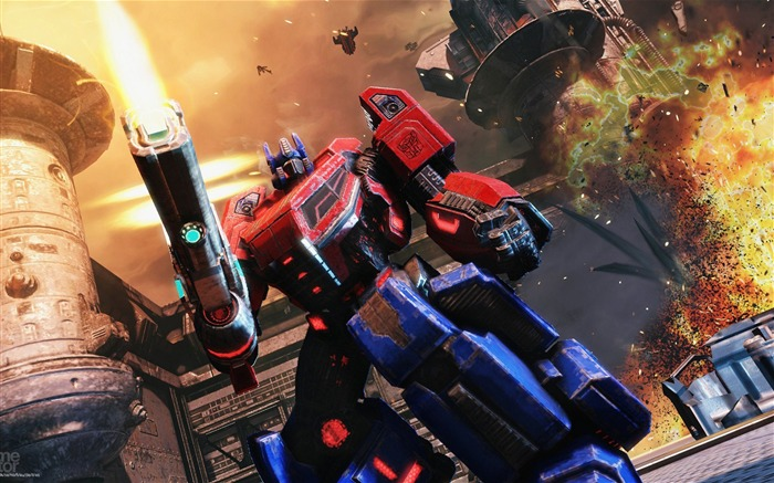 Transformers-Fall of Cybertron HD Game Wallpapers Views:10316