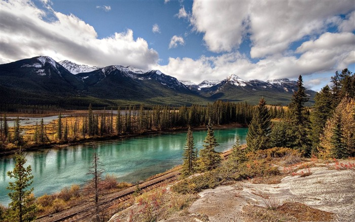 banff national park alberta-Canada travel landscape photography wallpaper Views:7667