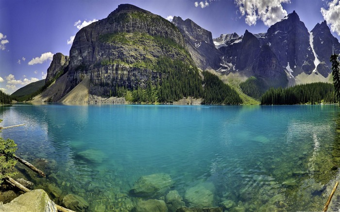 beautiful moraine lake-Canada travel landscape photography wallpaper Views:11235