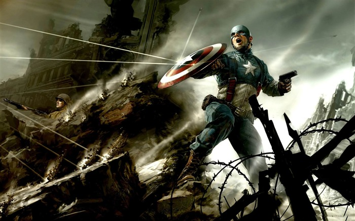 captain america-2011 Movie Selection Wallpaper Views:7249