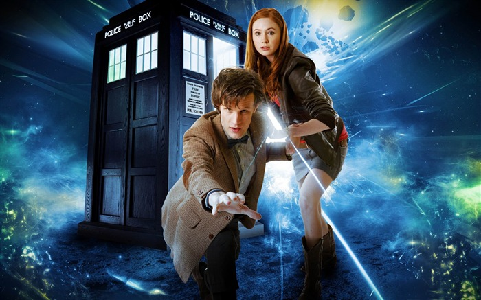 doctor who matt smith and karen gillan-2011 Movie Selection Wallpaper Views:11374
