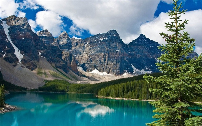 emerald lake-Canada travel landscape photography wallpaper Views:17327