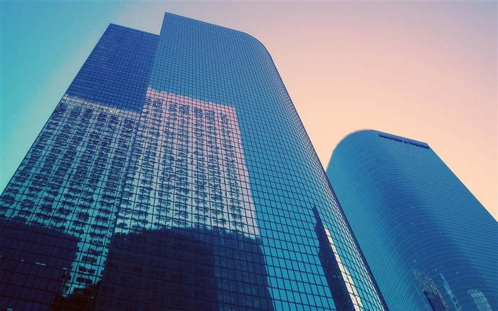 glass skyscrapers -City architecture art photography desktop selected Views:3461