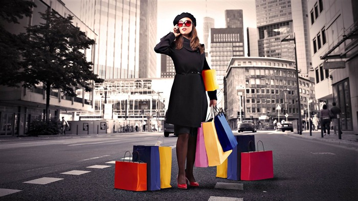 shopping-Photoshop Creative Design picture Views:4582