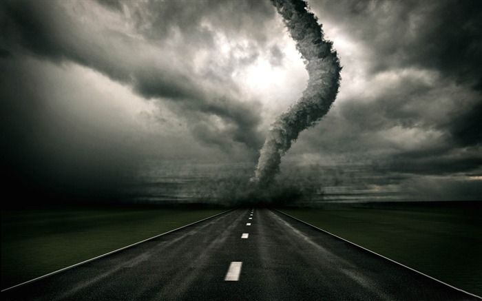 tornado-Photoshop Creative Design picture Views:18133
