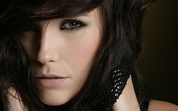 woman face close up-Sexy beauty HD photo wallpaper Views:17908