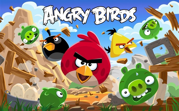 Angry Bird HD Game Wallpaper Views:10760