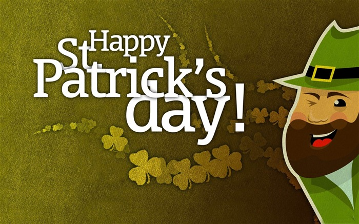 Happy Saint Patricks Day themed Desktop wallpaper Views:5453