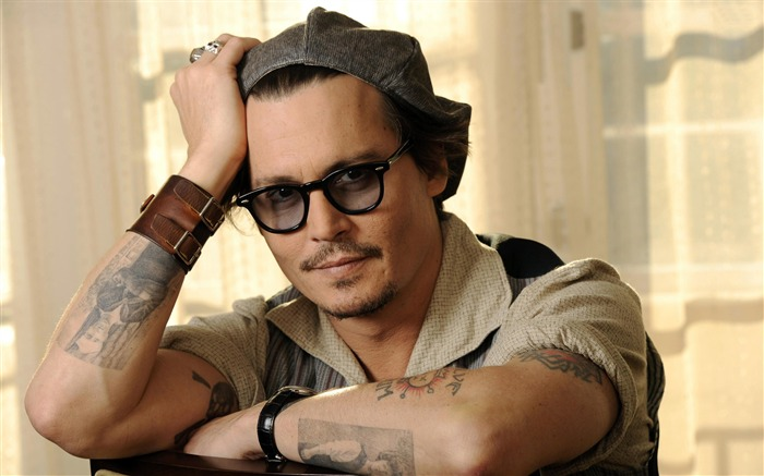 Johnny Depp -Global Male celebrity Photo Wallpaper Views:6818