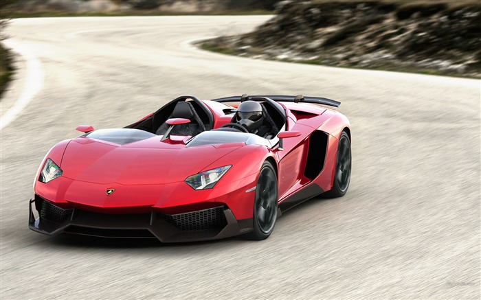 Lamborghini Aventador J Concept Wallpaper Views:10850