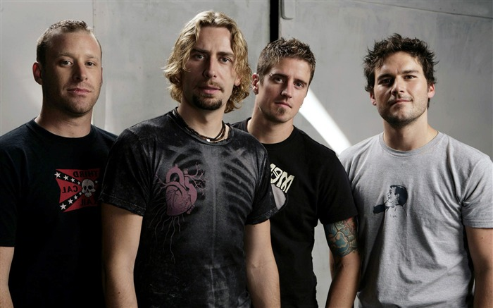 Nickelback-Global Male celebrity Photo Wallpaper Views:9156