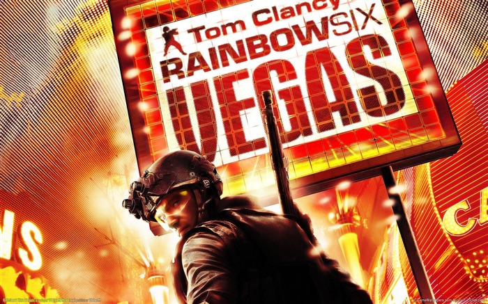 Rainbow Six-Vegas HD Game Wallpaper Views:5682