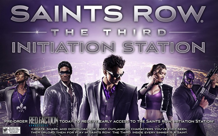 Saints Row-The Third HD Game Wallpaper Views:8913