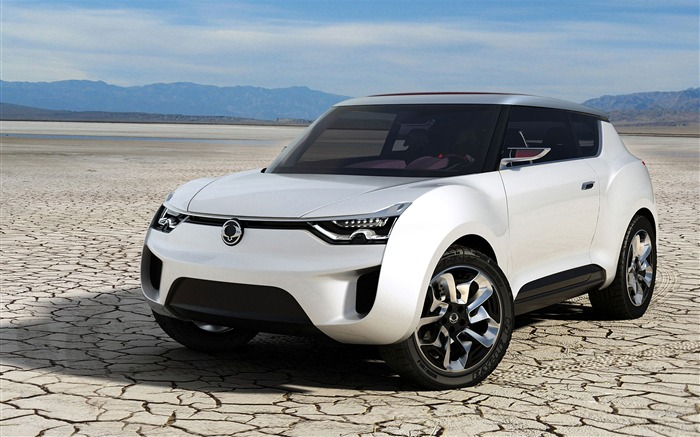 White SsangYong XIV-2 Concept  HD Wallpaper Views:5067