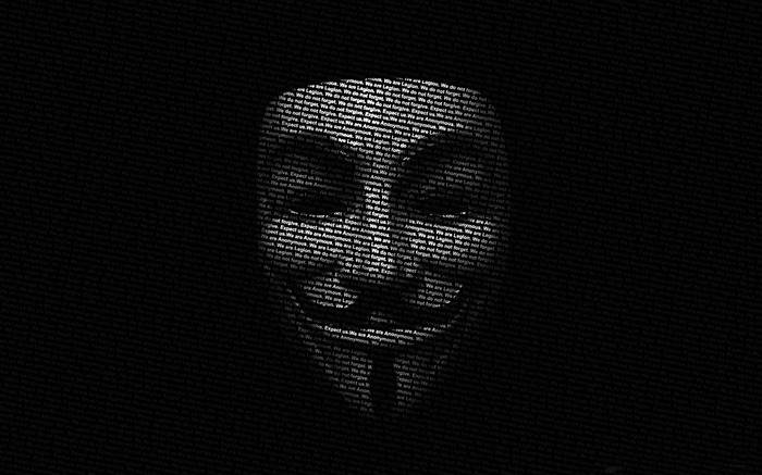 anonymous mask-Computer related desktop wallpaper Views:28165