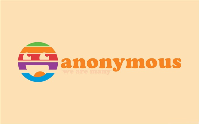 anonymous we are many-Computer related desktop wallpaper Views:4728