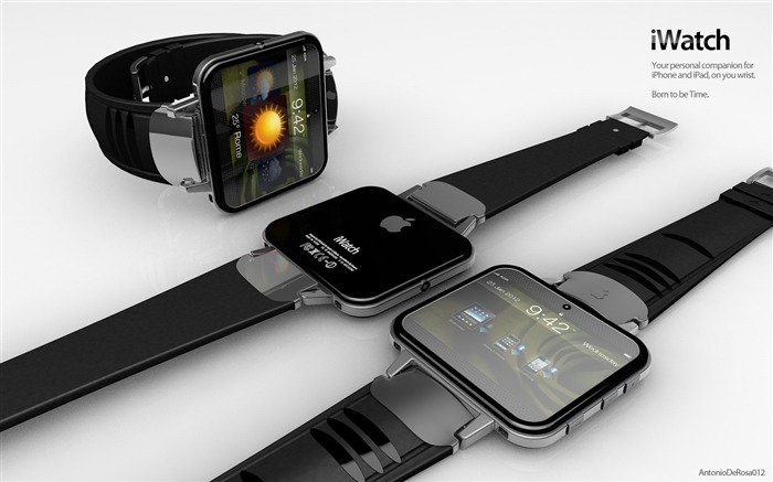 apple iWatch 01-The world famous brands watches Featured wallpaper Views:5620
