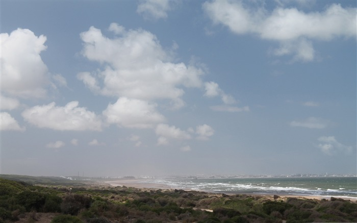 el jadida from a distance-beautiful natural landscape wallpaper Views:4635