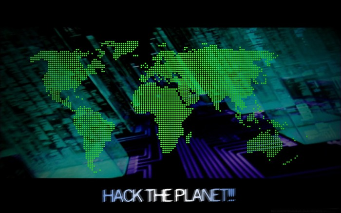 hack the planet-Computer related desktop wallpaper Views:10132